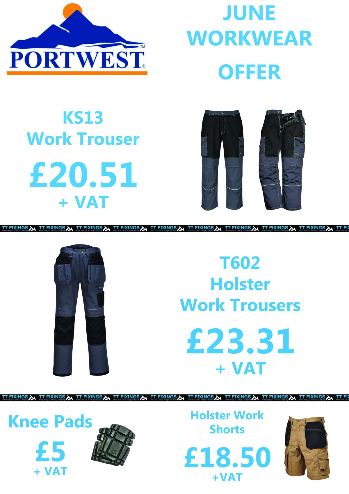 June Offers – workwear