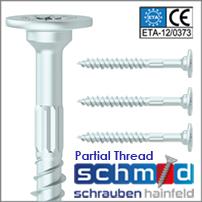 Schmid Senfix Steel to Timber