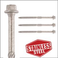Index Hex head Stainless Steel screws